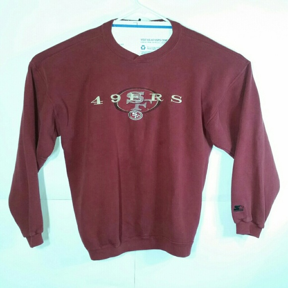 STARTER Other - VTG Starter San Francisco 49ers Sweatshirt USA EUC